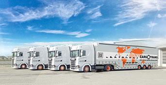 Cargotrans Bremen LKWs