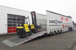 Industrial truck | Forklift truck | Stacker | Frontloader | Sideloader | Telescopic forklift truck